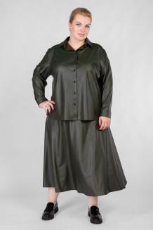 Блузка BL30209GRN45 темно-зеленый