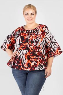 Блузка BL55501LEO54 леопард