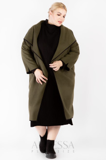 Пальто PL30028GRN30 хаки