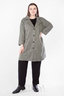 Пальто PL40522MEL45 зеленый