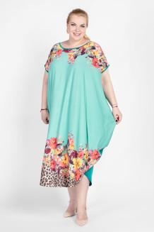 Платье PP05207CHR10 бирюзовый