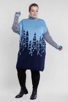 Платье PP90666GOR14 голубой