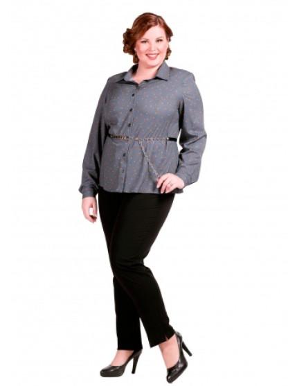 Блузка Ключики (серый)