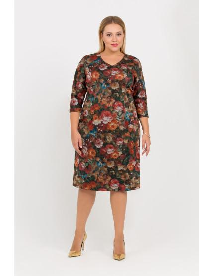 Платье Вергина (мультицвет)