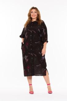 Платье Наив (черный)