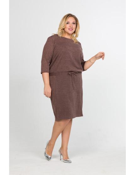 Платье Ренея (коричневый)