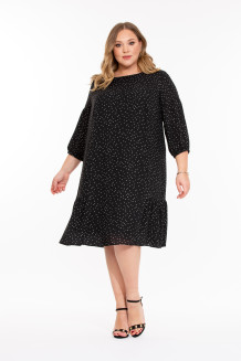 Платье Аниколь (черный)