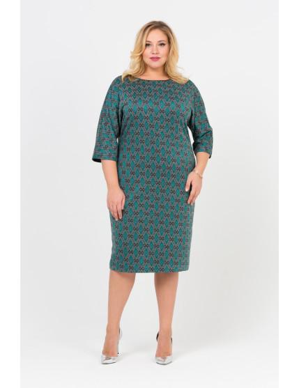 Платье Атласные Ромбы