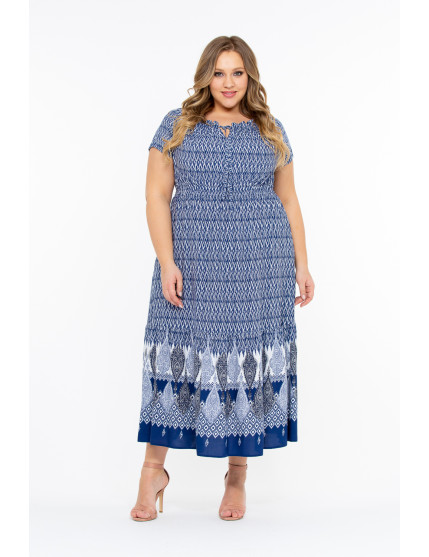 Платье Чаил (синий)