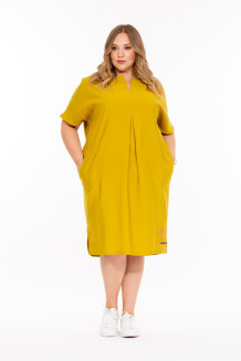 Платье Дайкири (горчица)