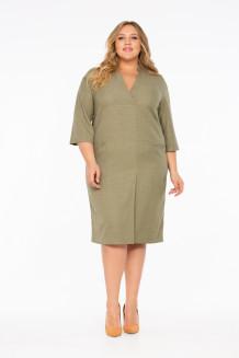 Платье Гинтаре (оливка)