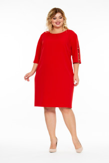 Платье Карес (красный)