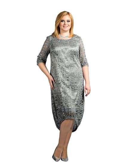 Платье Кристалл (серебряный)