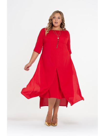 Платье Лучана (красный)