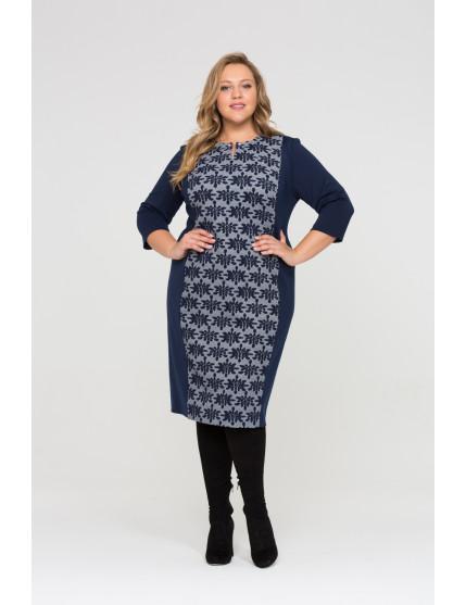 Платье Марьяна (темно синий)