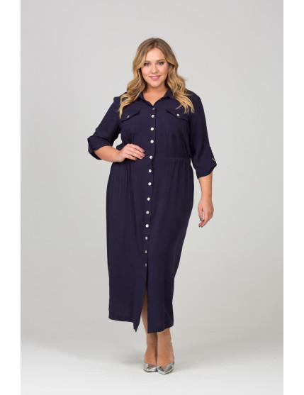Платье Окси (темно синий)