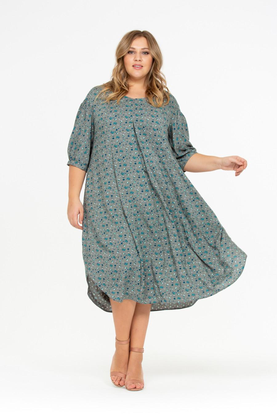 Легкое Платье Для Полной Женщины