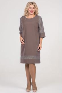 Платье 1001 бежевый