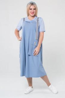 Сарафан 1021 (голубой)
