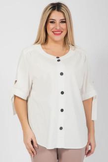 Блузка 1045 белый
