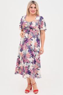 Платье 1058 молочный