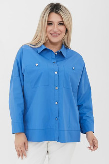 Рубашка 1090 синий