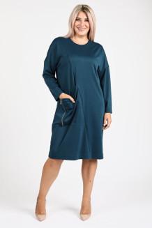 Платье 1097 темно зеленый