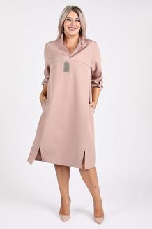 Платье 1125 бежевый