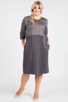 Платье 1126 серый