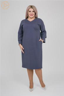 Платье 1148 синий