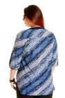 Блузка 322 (синий)
