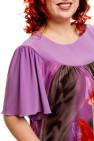 Платье 488 (фиолетовый)