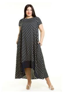 Платье 499 (горошки)