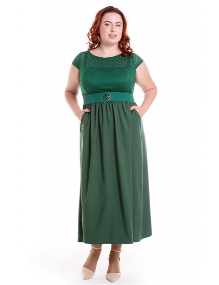 Платье 501 (темно-зеленый)