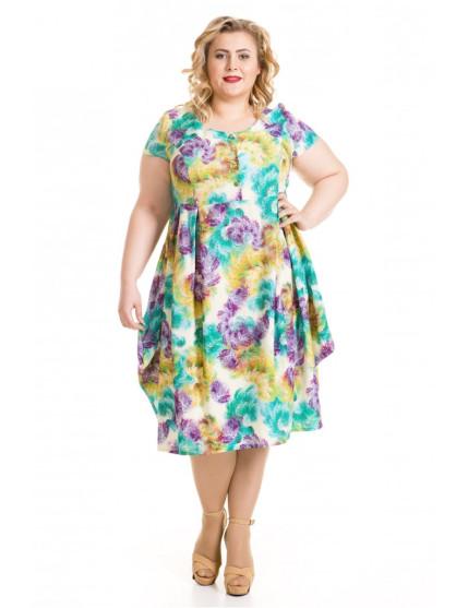 Платье 502 (горчичный)
