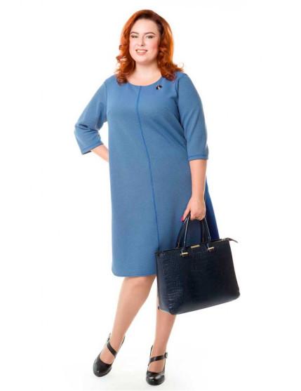 Платье 524 (голубой)