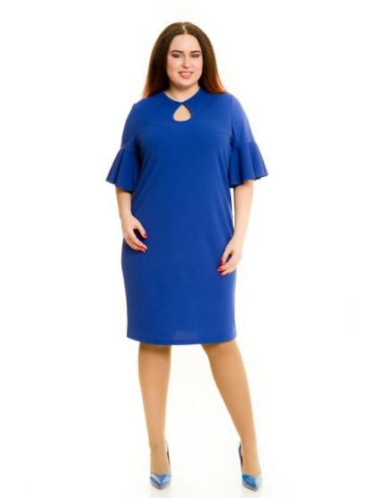 Платье 593 (синий)