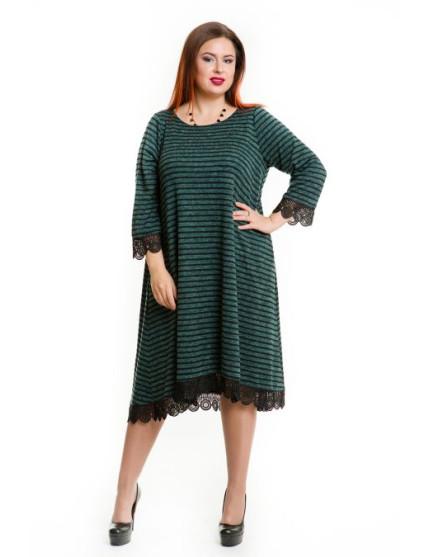 Платье 654 зеленый