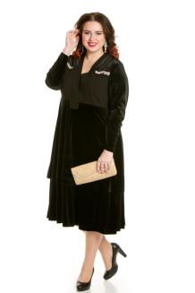 Платье 658 (черный)