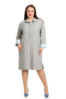Платье 732 (серый)