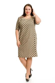 Платье 738 (коричневый)