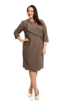 Платье 745 (коричневый)