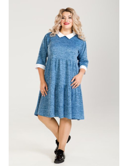 Платье 778 (голубой)