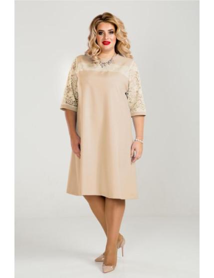 Платье 801 (молочный)