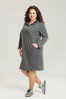 Платье 811 (серый)