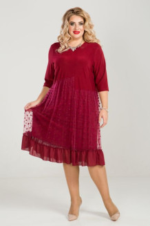 Платье 860 (бордо)