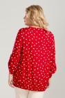 Блузка 861 (красный)