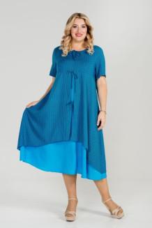 Платье 869 (синий)