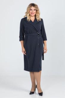 Платье 918 (синий темный)