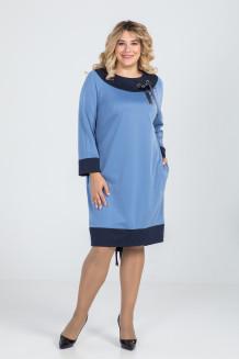 Платье 932 (голубой)